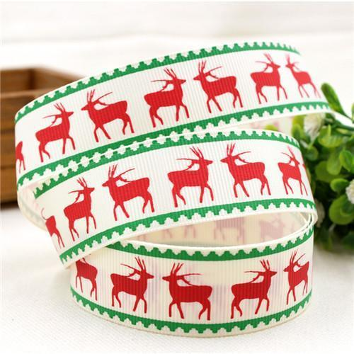 PinKart-USA Online Shopping 25MM 10 yards 4 1591032 , 15 Arrival 25Mm Christmas Series Printing Ribbon, Unique Models, Christma