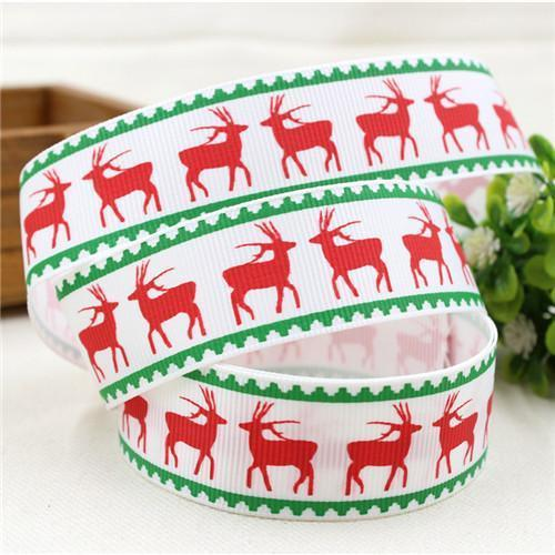 PinKart-USA Online Shopping 25MM 10 yards 5 1591032 , 15 Arrival 25Mm Christmas Series Printing Ribbon, Unique Models, Christma