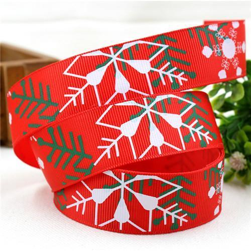 PinKart-USA Online Shopping 25MM 10 yards 9 1591032 , 15 Arrival 25Mm Christmas Series Printing Ribbon, Unique Models, Christma