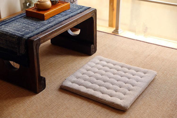 PINkart-USA Online Shopping (2Pcs/Lot)Zen Cushion Zabuton Zafu Square 40Cm Floor Meditation Seat Tatami Mat Zabuton Chair