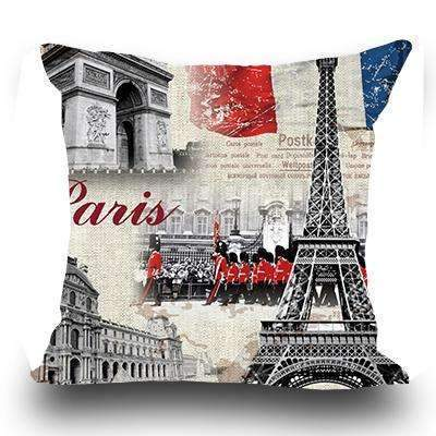 PinKart-USA Online Shopping 3 / 45x45cm Just Cover Miracille Fashion European Decorative Cushions London Style Throw Pillows Car Home Decor Cushion