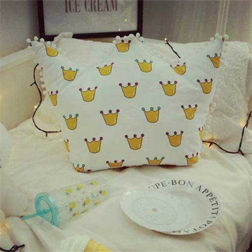 PINkart-USA Online Shopping 3 / 45x65cm Nordic Crown Cute Pillows Soft Decorative Cushions Stuffed Plush Toy Doll Christmas Gift For Girl
