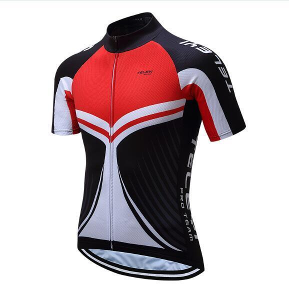 PINkart-USA Online Shopping 3 / 4XL Teleyi Brand Pro Team Men Cycling Jersey Ropa Ciclismo Breathable Mtb Bike Jersey Shirt Maillot