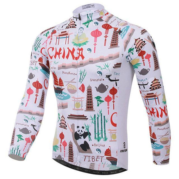 PINkart-USA Online Shopping 3 / L Men Cycling Jersey Breathable Long Sleeve Bike Jersey Cycling Clothing Ropa Invierno Ciclismo