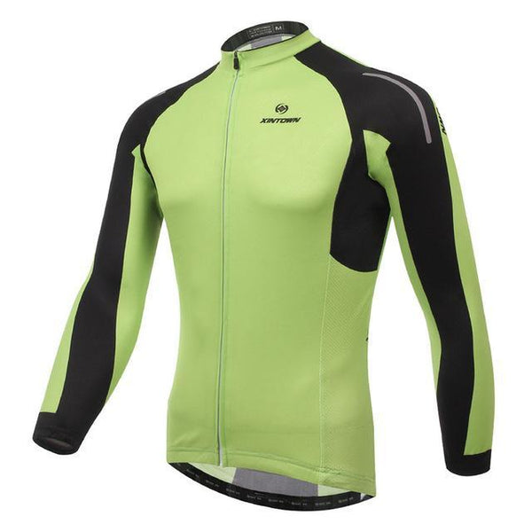 Men'S Cycling Jersey Tops Winter Long Sleeve Cycling Clothing Ropa Invierno Ciclismo Sports