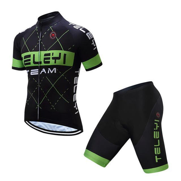 PINkart-USA Online Shopping 3 / L Teleyi Ropa Ciclismo Cycling Jersey Set Mtb Racing Sport Cycling Clothing Quick Dry Bicycle Clothes