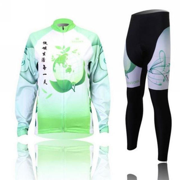 PINkart-USA Online Shopping 3 / L Women'S Cycling Jersey Sets Winter Long Sleeve Mtb Bicycle Cycling Clothing Maillot Ciclismo