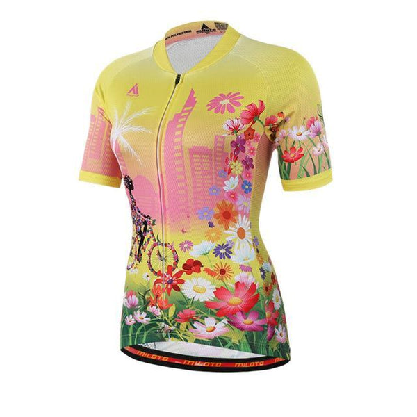 PINkart-USA Online Shopping 3 / L Womens Cycling Jersey Tops Short Sleeve Bike Jersey Clothes Mtb Cycling Clothing Ropa