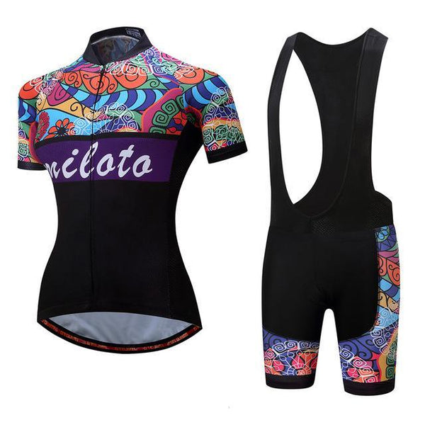 PINkart-USA Online Shopping 3 / S Breathable Women Cycling Jersey Sets Ropa Ciclismo Quick Dry Bicycle Cycling Clothing Maillot Mtb