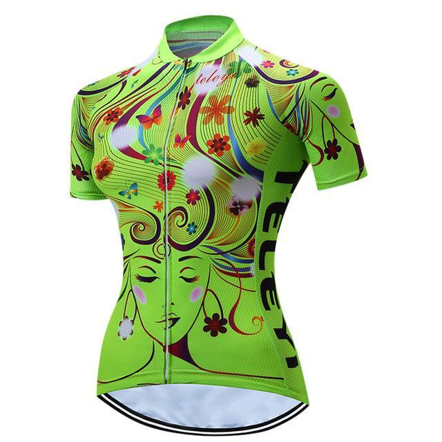 PINkart-USA Online Shopping 3 / S Teleyi 100% Polyester Summer Breathable Cycling Jersey Short Sleeve Road Bicycle Cycling Clothing