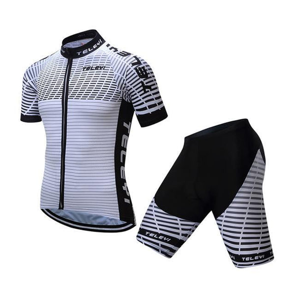 Teleyi Breathable Bike Jersey Outdoor Bicycle Clothes Quick Dry Cycling Clothing Ropa Ciclismo