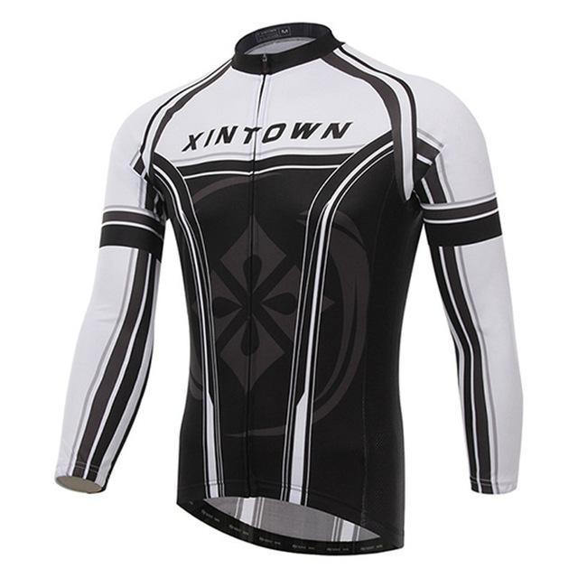 PINkart-USA Online Shopping 3 / S Winter Cycling Clothing Ropa Invierno Ciclismo Hombre Long Sleeve Cycling Jersey Men Pro Racing Mtb