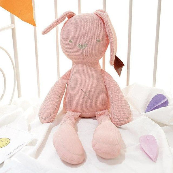 PINkart-USA Online Shopping 3 Sales Baby Bear Rabbit Toys 8 Styles Colorful Cute Gift Soft Infant Sleeping Toys 0-5Years Kids