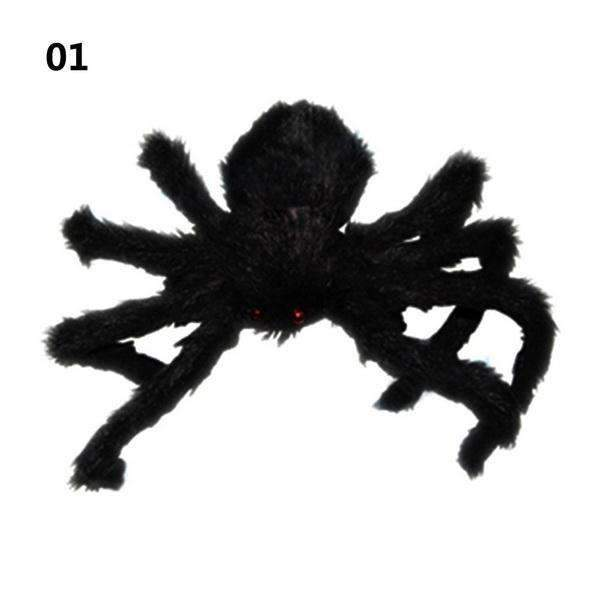PinKart-USA Online Shopping 30cm 30/50/75Cm Large Spider Made Of Wire And Plush Two Style Funny Toy Props Spider For Party Bar Ktv