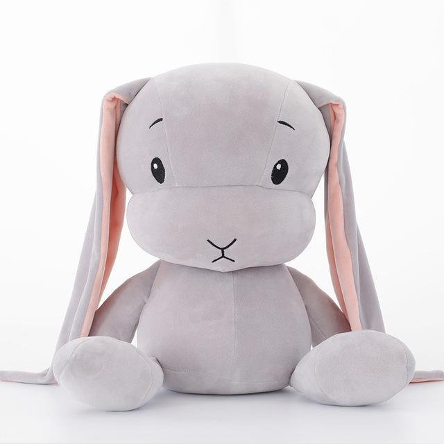 PINkart-USA Online Shopping 30cm / grey Sales Baby Plush Toys Cute Rabbit Long Ear Kids Stuffed Soft Dolls Children Gifts Infants Born