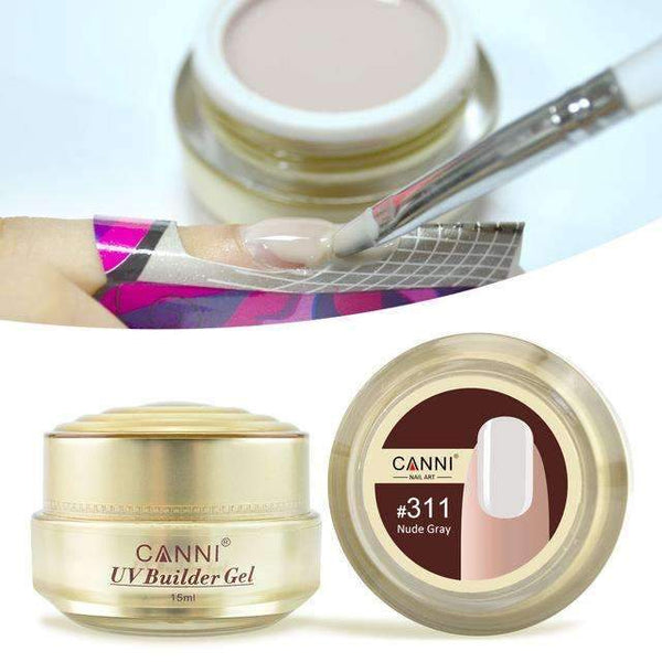PinKart-USA Online Shopping 311 Canni Jelly Builder Gel 15Ml High Viscosity Semi-Transparent Clear Camouflage 25 Colors 50951 Nail
