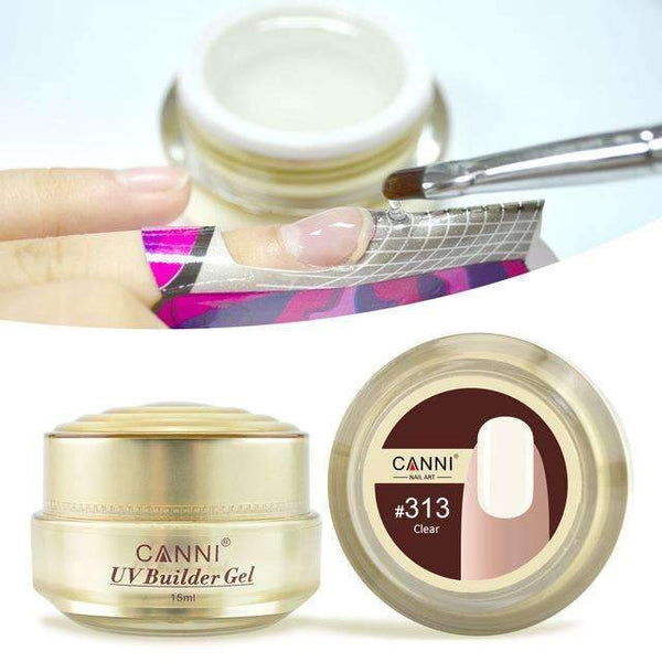 PinKart-USA Online Shopping 313 clear Canni Jelly Builder Gel 15Ml High Viscosity Semi-Transparent Clear Camouflage 25 Colors 50951 Nail