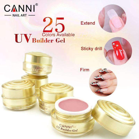 PinKart-USA Online Shopping 316 Canni Jelly Builder Gel 15Ml High Viscosity Semi-Transparent Clear Camouflage 25 Colors 50951 Nail