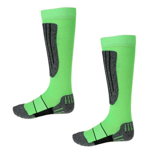 PINkart-USA Online Shopping 37-39 Lightweight Thermal Padded Long Ski Socks Snowboard Boot Socks For Women Men