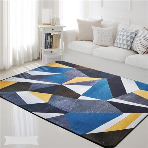 PINkart-USA Online Shopping 4 / 100x150cm Northern Europe Carpet Simple Solid Mat Area Rug Bedroom Rugs Mats Carpet Doormat For Hallway
