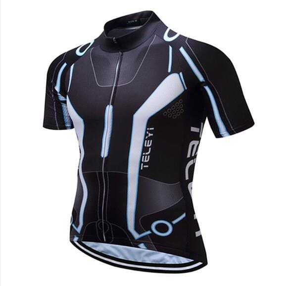 Teleyi Brand Pro Team Men Cycling Jersey Ropa Ciclismo Breathable Mtb Bike Jersey Shirt Maillot