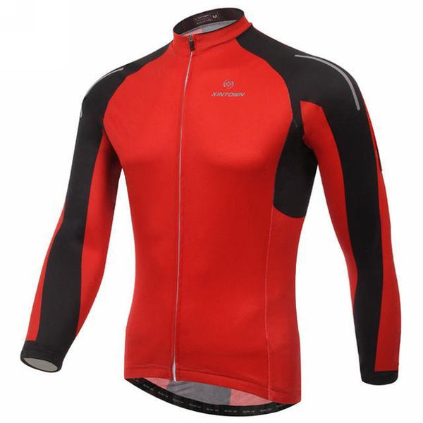 PINkart-USA Online Shopping 4 / L Men'S Cycling Jersey Tops Winter Long Sleeve Cycling Clothing Ropa Invierno Ciclismo Sports