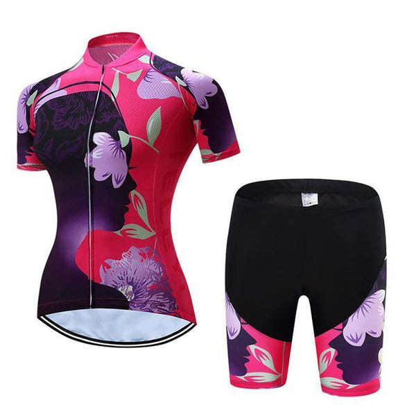 PINkart-USA Online Shopping 4 / L Teleyi Leisure Outdoor Women'S Cycling Jersey Set Sport Bicycle Cycling Clothing Ropa Ciclismo