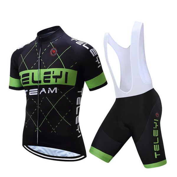 PINkart-USA Online Shopping 4 / L Teleyi Men'S Bike Team Racing Cycling Clothing Short Sleeve Cycling Jersey Summer Breathable Bike