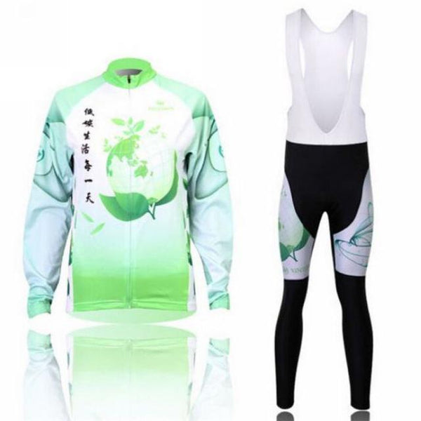 PINkart-USA Online Shopping 4 / L Women'S Cycling Jersey Sets Winter Long Sleeve Mtb Bicycle Cycling Clothing Maillot Ciclismo