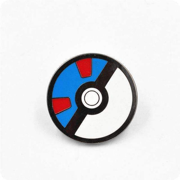 PinKart-USA Online Shopping 4 Pokemon Brooches Anime Cute Harajuku Ball Pokemon Go Enamel Pin Badge Cameo Kids Boys Girls Game