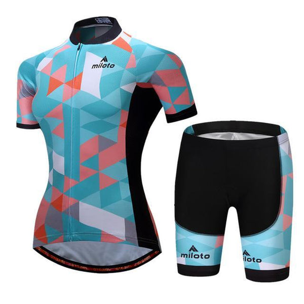 PINkart-USA Online Shopping 4 / S Breathable Women Cycling Jersey Sets Ropa Ciclismo Quick Dry Bicycle Cycling Clothing Maillot Mtb