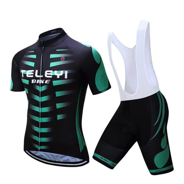 PINkart-USA Online Shopping 4 / S Teleyi Breathable Bike Jersey Outdoor Bicycle Clothes Quick Dry Cycling Clothing Ropa Ciclismo