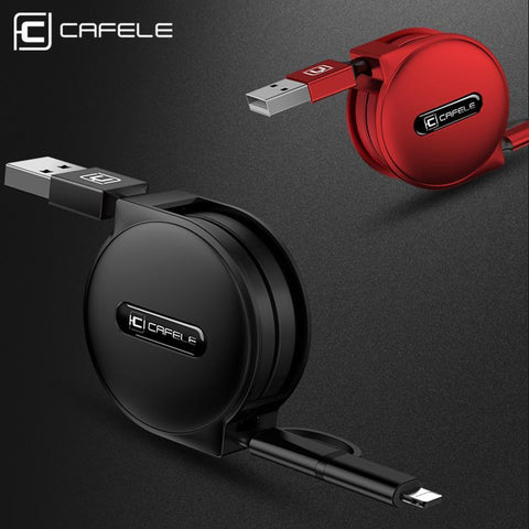 PinKart-USA Online Shopping 4 Style 100Cm Retractable USB Fast Charging Cable For Iphone X 8 7 5S 6S Plus Micro Type-C