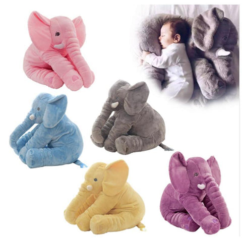 New 40cm 60cm Large Plush Elephant Doll Toy Kids Sleeping Stuffed Pillow Elephant Doll Baby Doll Online Shopping PINkart.in