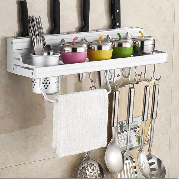 PinKart-USA Online Shopping 40cm one cup Aluminum Kitchen Shelf, Kitchen Rack, Cooking Utensil Tools Hook Rack, Kitchen Holder & Storage