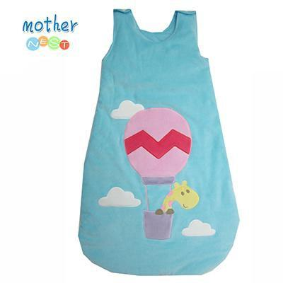 PINkart-USA Online Shopping 41015b02 / 3M Mother Nest Born Baby Sleeping Bag Fleece Infant Baby Clothes Cartoon Animal Sleeveless Romper