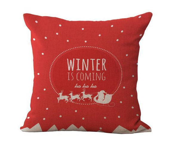 PinKart-USA Online Shopping 45x45cm / 15 Maiyubo Romantic Gifts Christmas Santa Claus Pillow Cover Home Decorative Throw Pillow
