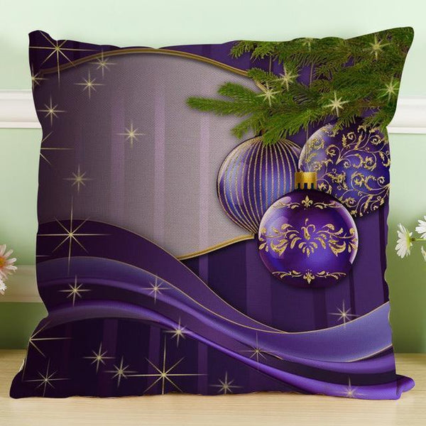 PinKart-USA Online Shopping 45x45cm / 2 Maiyubo Romantic Gifts Christmas Santa Claus Pillow Cover Home Decorative Throw Pillow
