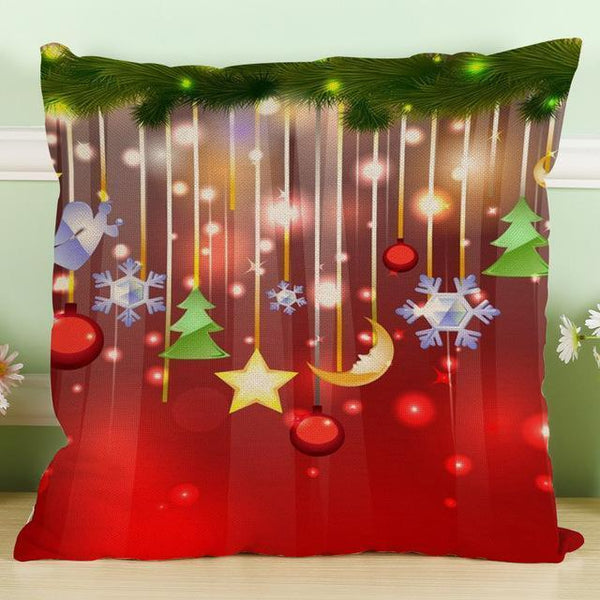 PinKart-USA Online Shopping 45x45cm / 3 Maiyubo Romantic Gifts Christmas Santa Claus Pillow Cover Home Decorative Throw Pillow
