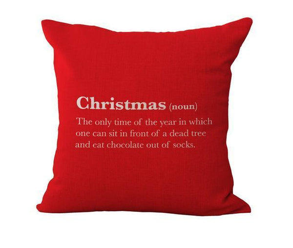 PinKart-USA Online Shopping 45x45cm / 9 Maiyubo Romantic Gifts Christmas Santa Claus Pillow Cover Home Decorative Throw Pillow