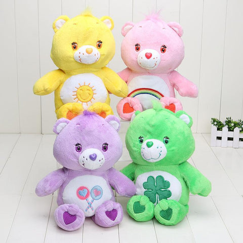 PINkart-USA Online Shopping 4Pcs/Lot 30Cm Care Bears Soft Plush Toy Stuffed Doll Animal Doll For Gift