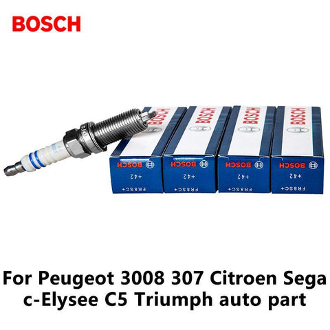 PINkart-USA Online Shopping 4Pieces/Set Nickel Yttrium Alloy Car Spark Plug Fr8Sc+ For Peugeot 3008 307 Citroen Sega C-Elysee