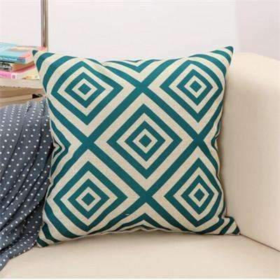 PinKart-USA Online Shopping 5 / 43x43cm Rubihome Cushion Without Inner Creative Geometric Polyester Square Home Decor Sofa Car Seat