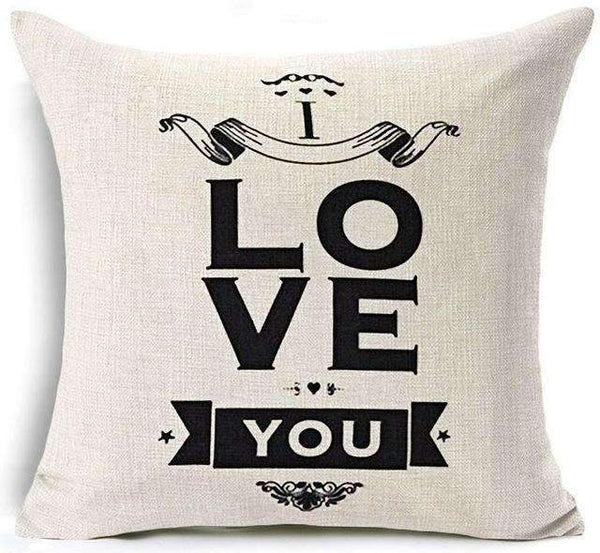 PinKart-USA Online Shopping 5 / 45x45 cm Hyha Funny Words Pillow Case Home 45X45 Cm Pillows Sea Sun Sand Style Pillowcases Home Pillows