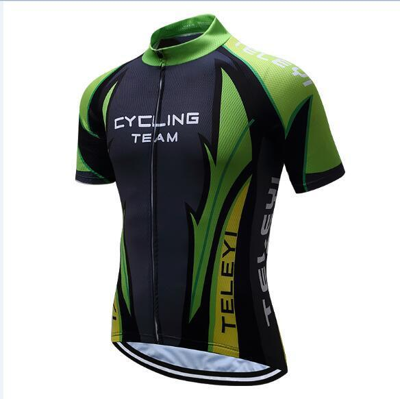 PINkart-USA Online Shopping 5 / 4XL Teleyi Brand Pro Team Men Cycling Jersey Ropa Ciclismo Breathable Mtb Bike Jersey Shirt Maillot