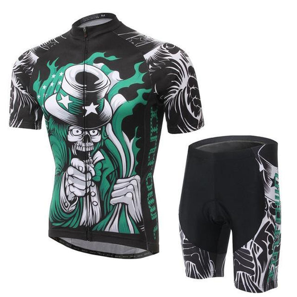 PINkart-USA Online Shopping 5 / L Skull Style Summer Cycling Clothing/Short Sleeve Cycling Jersey Ropa Ciclismo/Mtb Bike Jersey