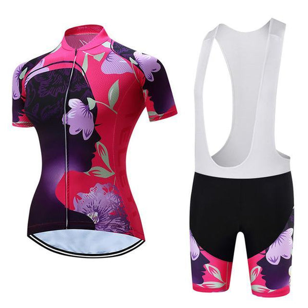 PINkart-USA Online Shopping 5 / L Teleyi Leisure Outdoor Women'S Cycling Jersey Set Sport Bicycle Cycling Clothing Ropa Ciclismo