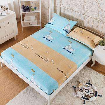 PinKart-USA Online Shopping 6 / 180x200x25cm 100% Cotton Modern Bed Sheets Colorful Cartoon Printing Bedding Fitted Sheet Simply Elastic