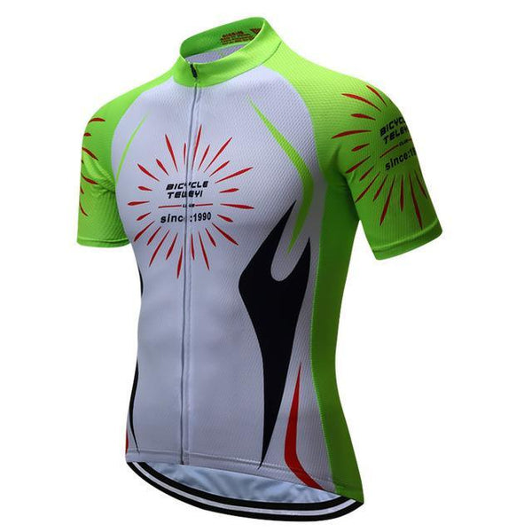 Brand Teleyi Breathable Cycling Jersey Summer Men'S Mountain Cycling Clothing Bicycle Clothes