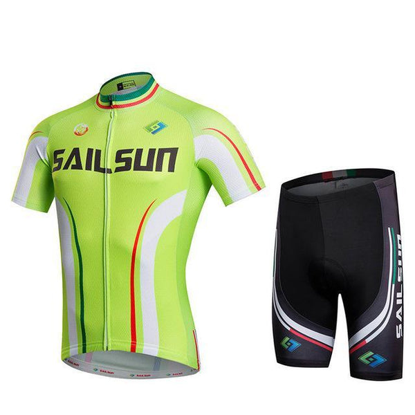 PINkart-USA Online Shopping 6 / L Sail Sun Team Racing Cycling Jersey Ropa Ciclismo Summer Cycling Clothing Breathable Mtb Bike